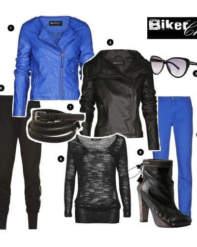 Het perfecte (faux) leren jasje: Expresso Biker Look