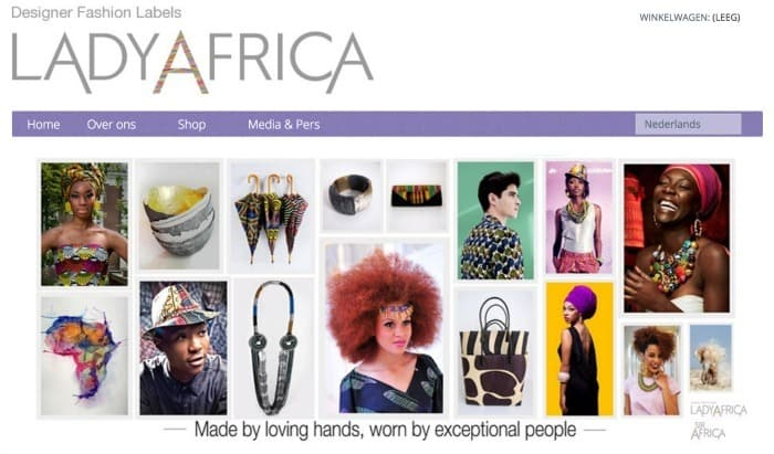Afrika & Fashion in Nederland: Lady Afrika