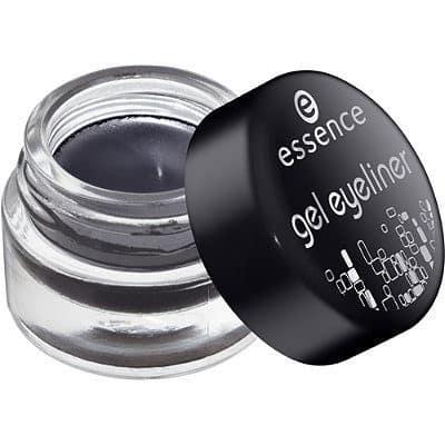 essence gel eyeliner: creamy & smudgeproof