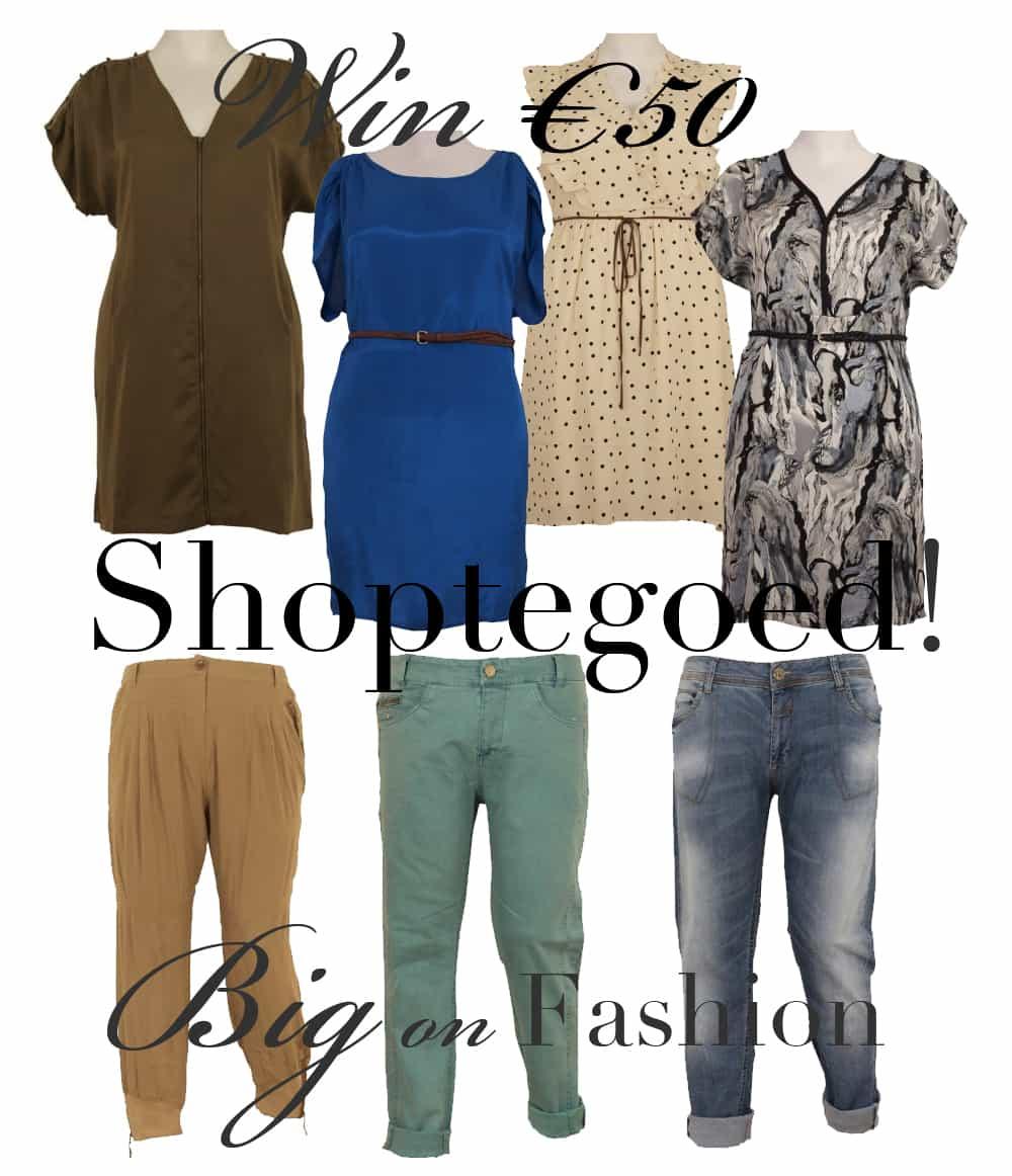 Win €50 shoptegoed bij Big on Fashion!