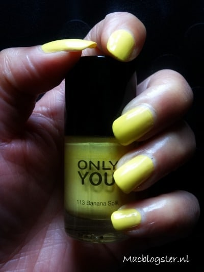 Only You Nagellak review: Banana Split & Wasabi