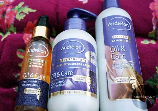 Andrelon Oil & Care: speciaal voor kroeshaar & krullen