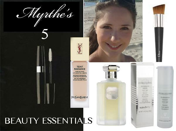 De 5 favoriete beauty essentials van… Myrthe