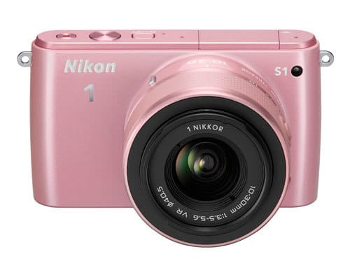 Nikon1 S1 Pink