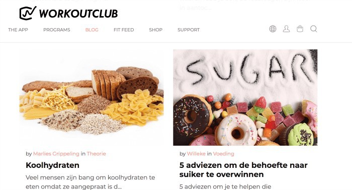 Personal trainer via een app: Willeke Zorg Workout Club