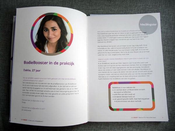 Afvallen m.b.v. een dieetboek: mijn Bodieboost ervaring