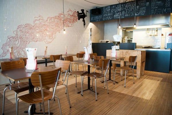 New hotspot Rotterdam: burgerbar Hamburg