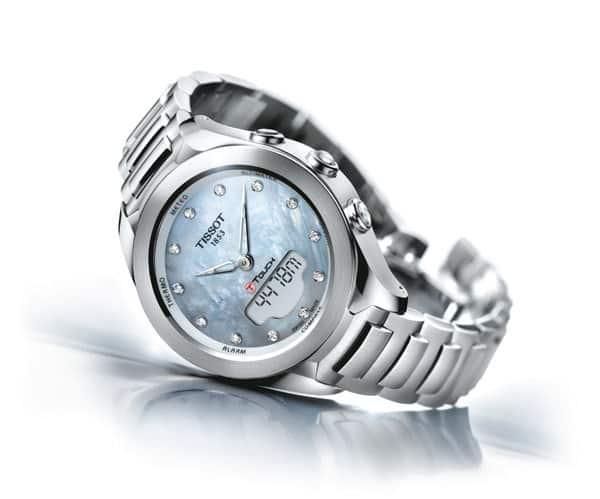 De 1e touch screen horloge op zonne-energie: Tissot