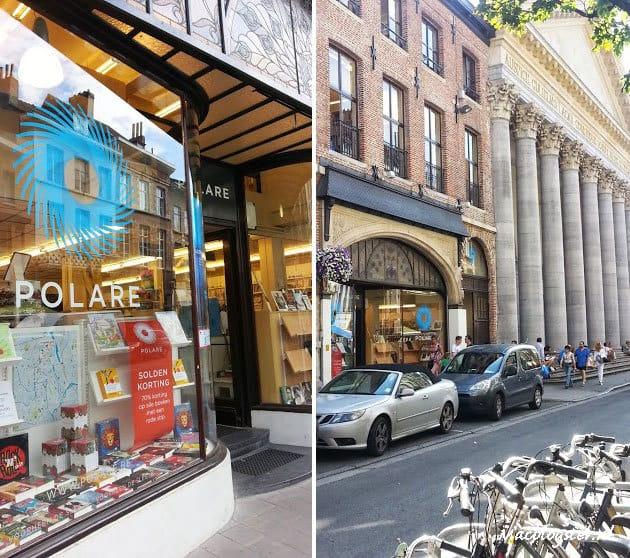 Hotspots Gent boekenwinkel Polare