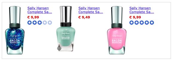Sally Hansen Salon Manicure te koop bij bol.com