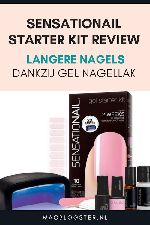 Sensationail Starter Kit review: langere nagels dankzij Senationail