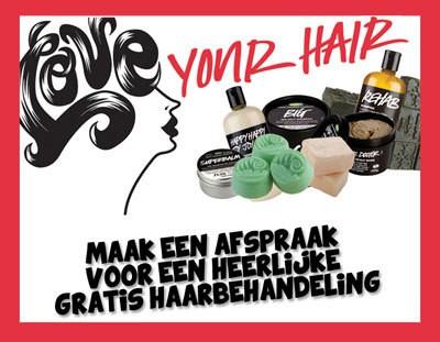 LUSH Rotterdam gebruikte deze producten op mijn haar: dit is wat er gebeurde