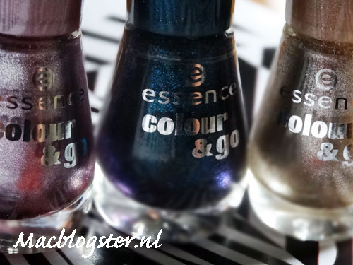 Essence colour & go nagellak swatches