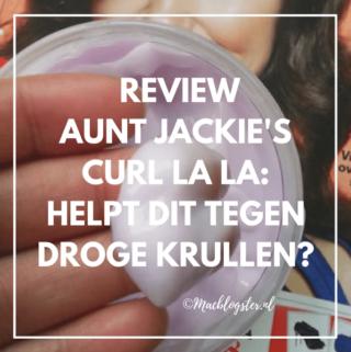 Aunt Jackie's Curl La La review: helpt dit tegen droge krullen?