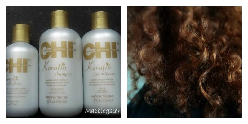CHI Keratin haarverzorging: glanzende krullen en zacht haar