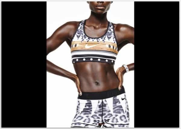 Nike tight of the moment Safari moves