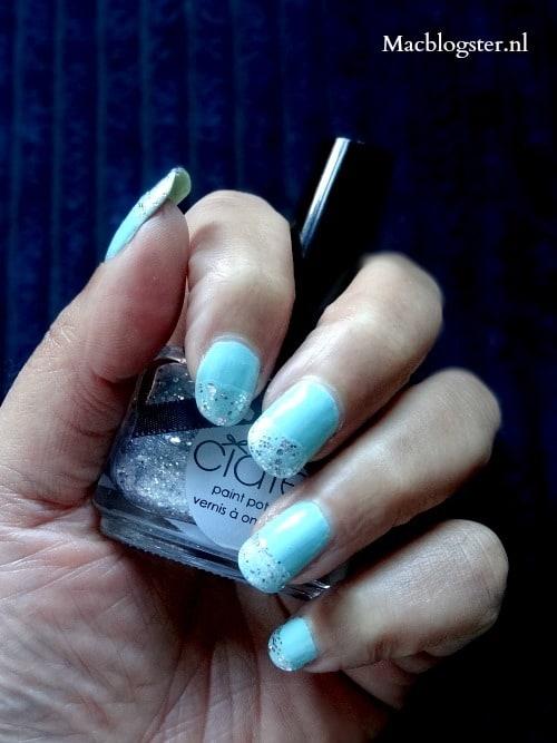 Ciate Locket zilveren glitter nagellak