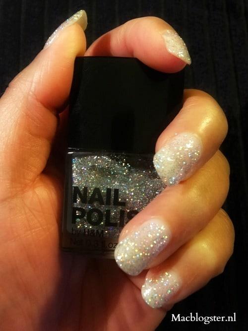 Budget Beauty: H&M 3D glitter nagellak