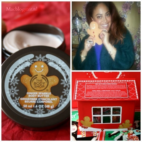Kerstcadeau: The Body Shop Gingerbread School House