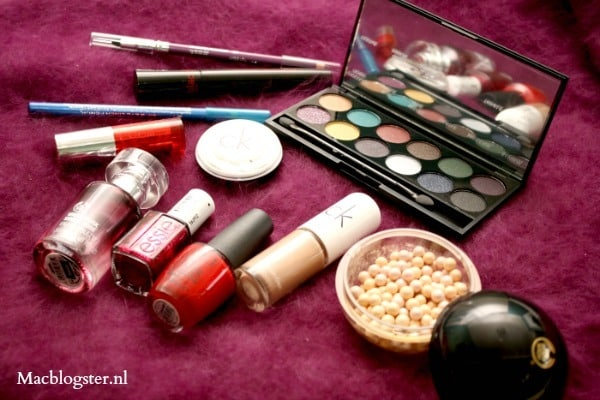 Feest make-up & outfit