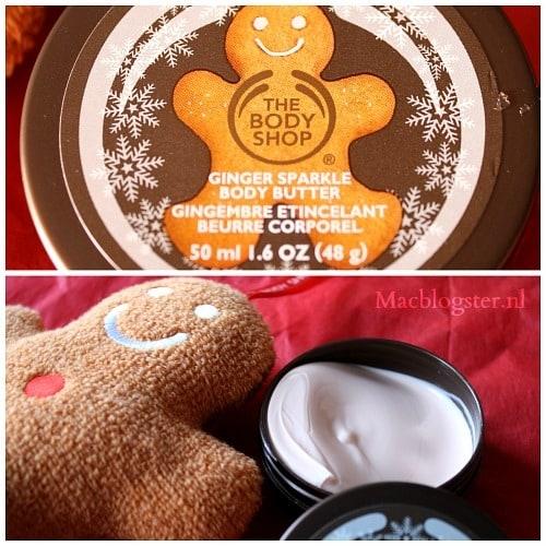 Kerstcadeau: The Body Shop Gingerbread School House