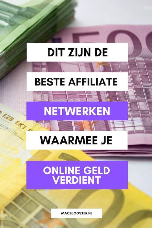 Online geld verdienen met affiliate marketing - dit zijn de beste Affiliate Netwerken in Nederland