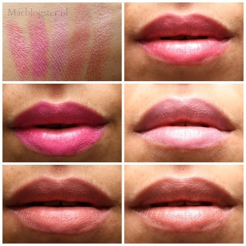 Swatches MAX lipstick