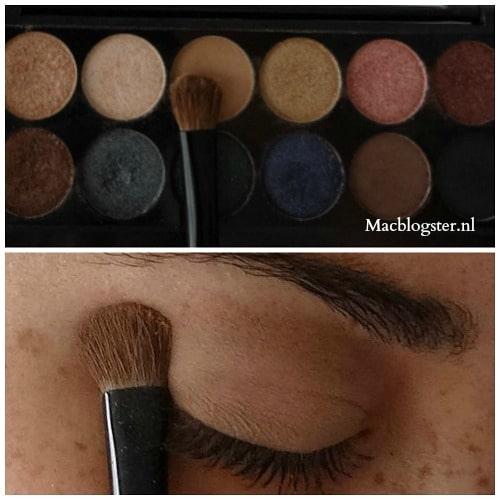 Sleek oogschaduw tutorial