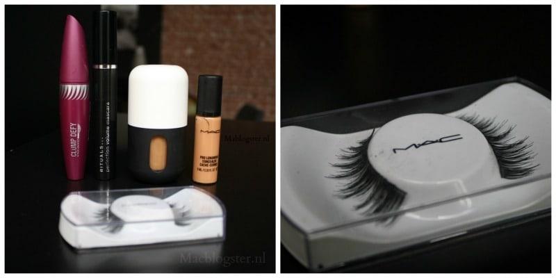 mijn make-up bag tijdens Amsterdam Fashion Week
