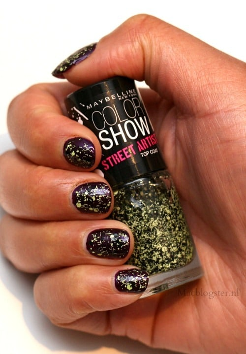 Swatch Maybelline Color Show Street Artist Boom Box Black