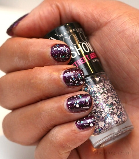Swatch Maybelline Color Show Street Artist White Splatter