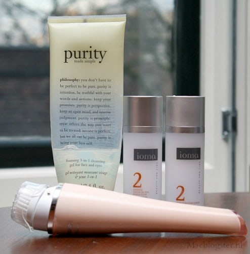 My skincare: Philips Visapure- Philosophy Purity-Ioma Skincare