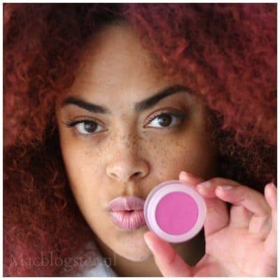 Eindelijk roze haar! The Body Shop Hair Chalk vs krullen