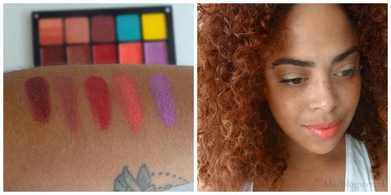 Oogschaduw & lipsticks: INGLOT Freedom System