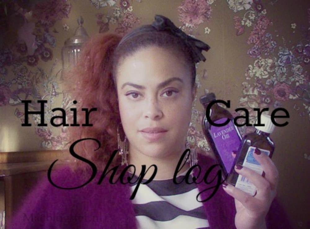 Shop haul: haarproducten voor krullen & kroeshaar