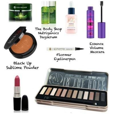 dagelijkse huidverzorging & makeup
