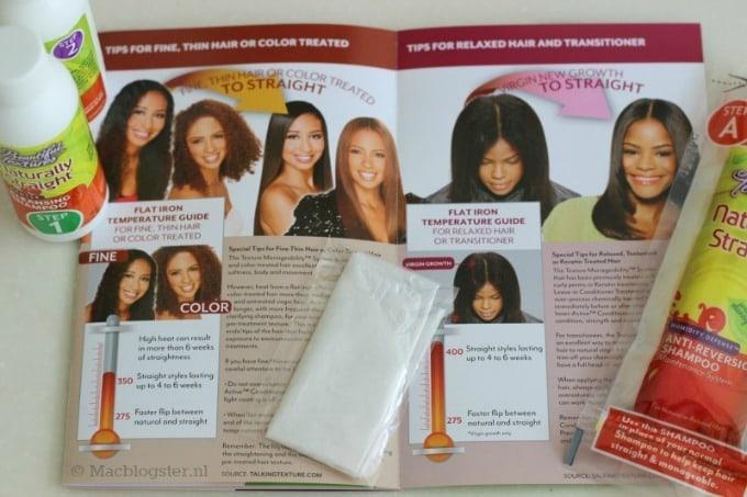Een niet chemische hair relaxer? Naturally Straight van Beautiful Textures