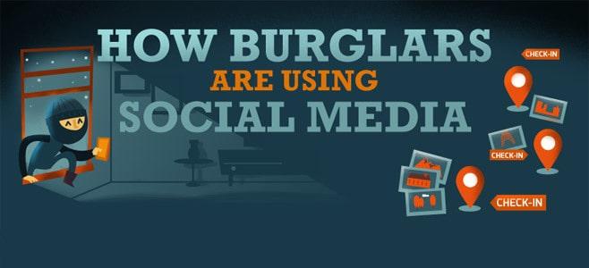 Inbraak voorkomen: simpele Social Media tips om te voorkomen dat je huis wordt leeggeroofd