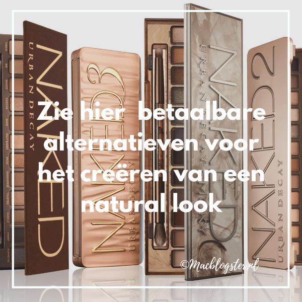 Betaalbare oogschaduw paletten voor een natural look