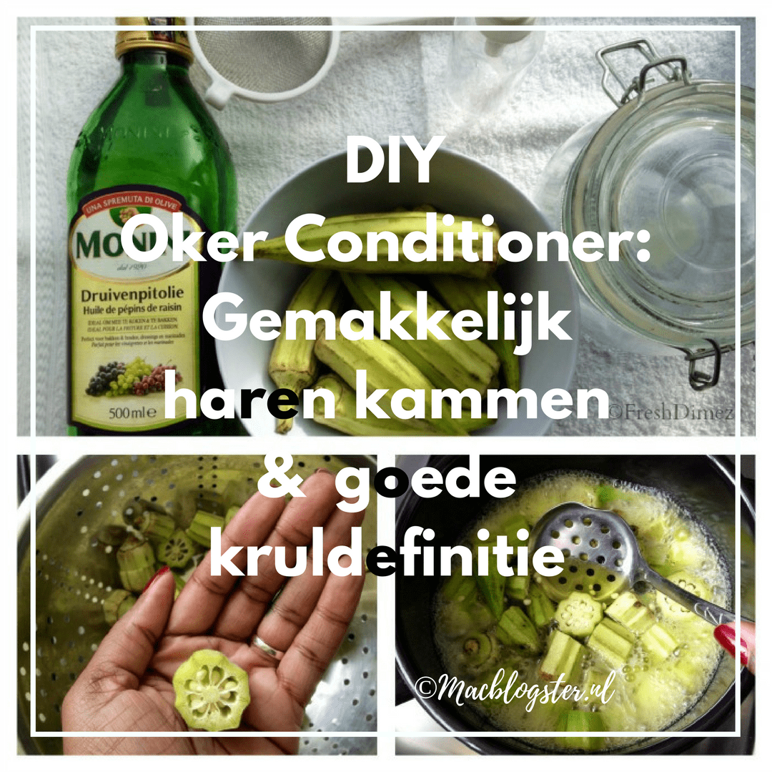 DIY Oker Conditioner maken
