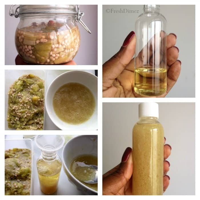Okra leave-in conditioner: DIY conditioner for curly & natural hair
