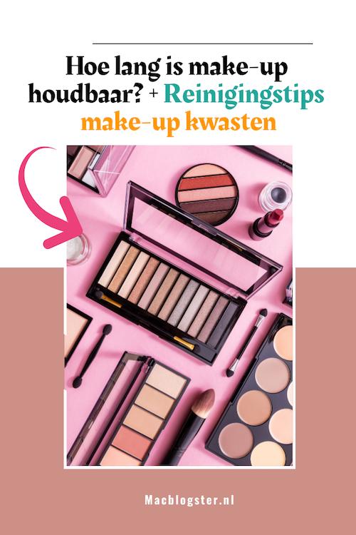 Hoe lang is make-up houdbaar (+ het reinigen van je make-up kwasten)?