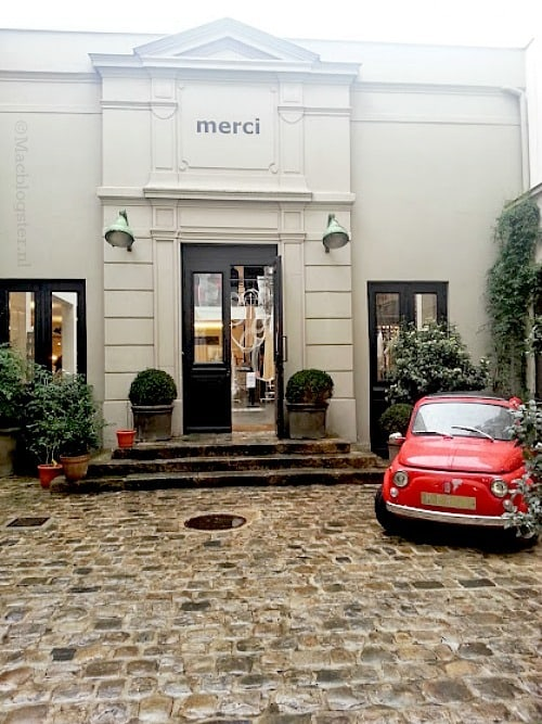 Conceptstore Merci in Parijs