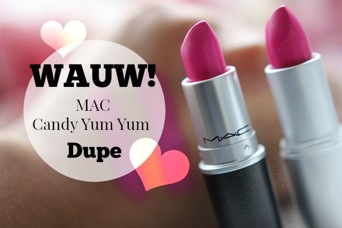 Dupe Alert: MAC Candy Yum Yum