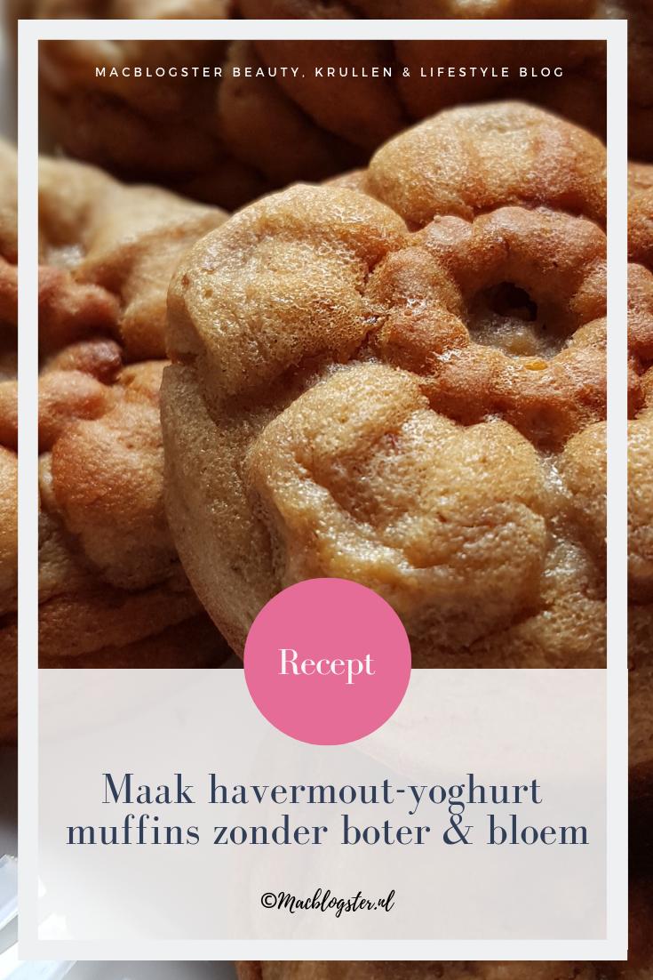havermout muffins maken met yoghurt (lactose-vrij)