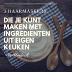 Haarmasker SOS: 3 maskers maken met ingrediënten uit eigen keuken