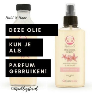 Deze olie kun je als parfum gebruiken & zorgt voor een mooie glow!