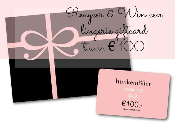 Win een hunkemöller giftcard Sexy comes in all shapes