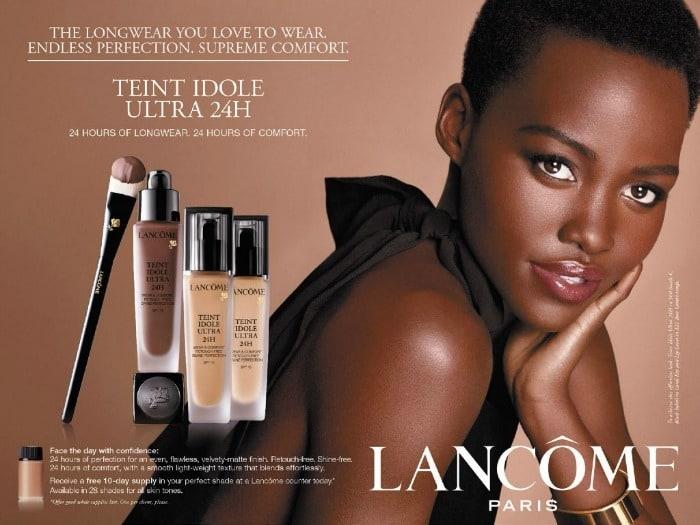 Lancome foundations voor getinte en donkere vrouwen