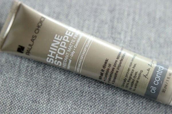 Paula's Choice Shine Stopper Instant Matte Finish review: must have voor vette huid